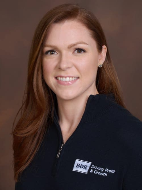 BDR Financial Coach, Brittany Baimbridge.