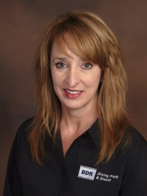 BDR Service Coach, Catherine Bares.