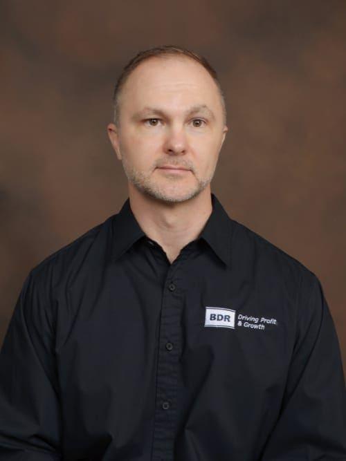 BDR Head Coach, Jasen Laws.
