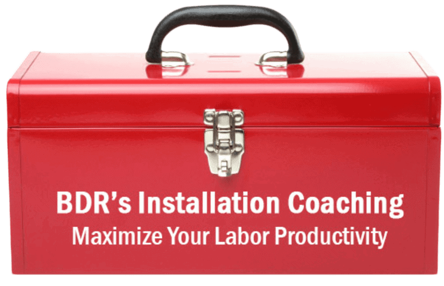 BDR Installation Coaching toolbox.