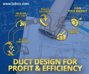 Duct design for profit and efficiency.